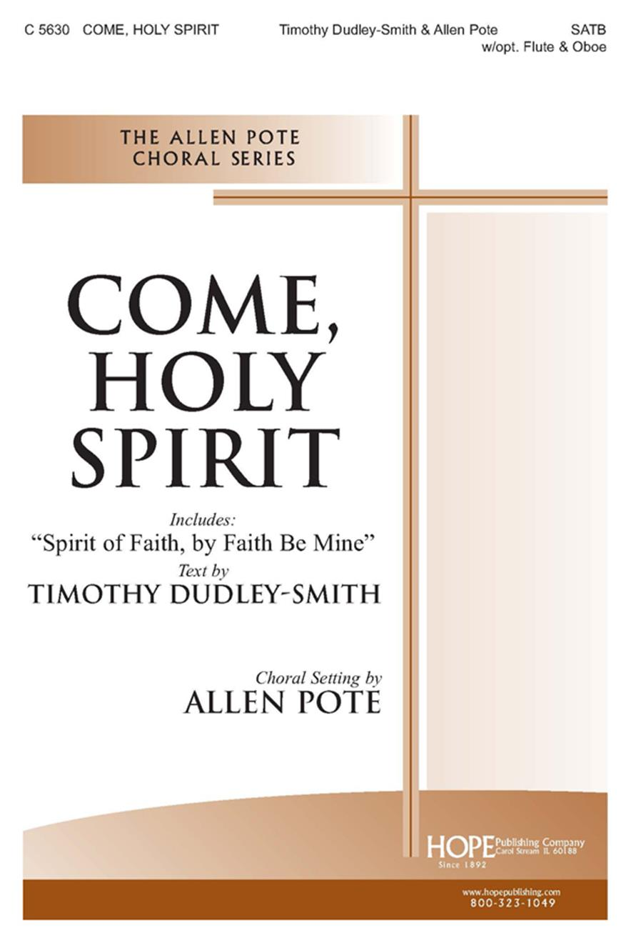 COME, HOLY SPIRIT - Cover Image