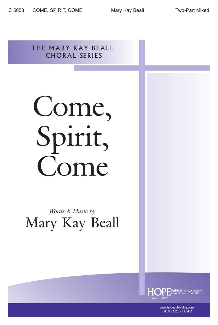 COME, SPIRIT, COME - Cover Image