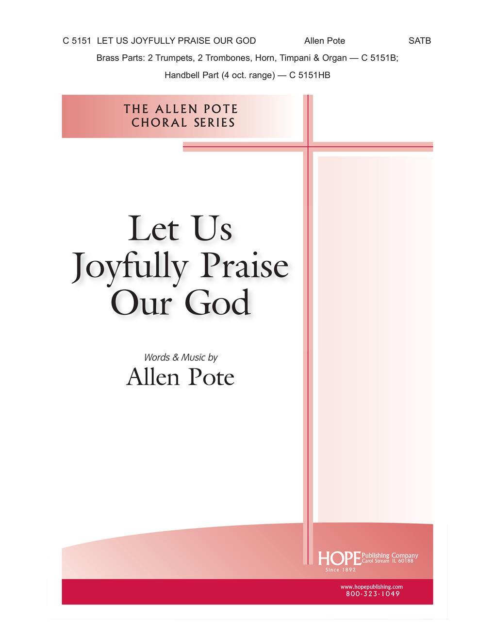Let Us Joyfully Praise Our God - SATB Cover Image