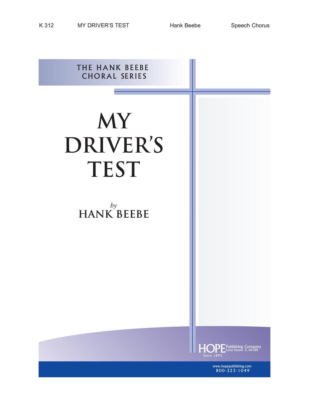My Driver's Test - Speech Chorus Cover Image