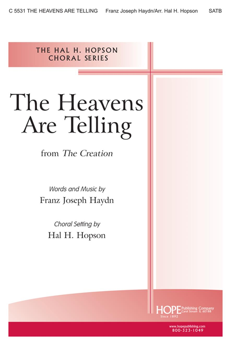 HEAVENS ARE TELLING, THE - Cover Image