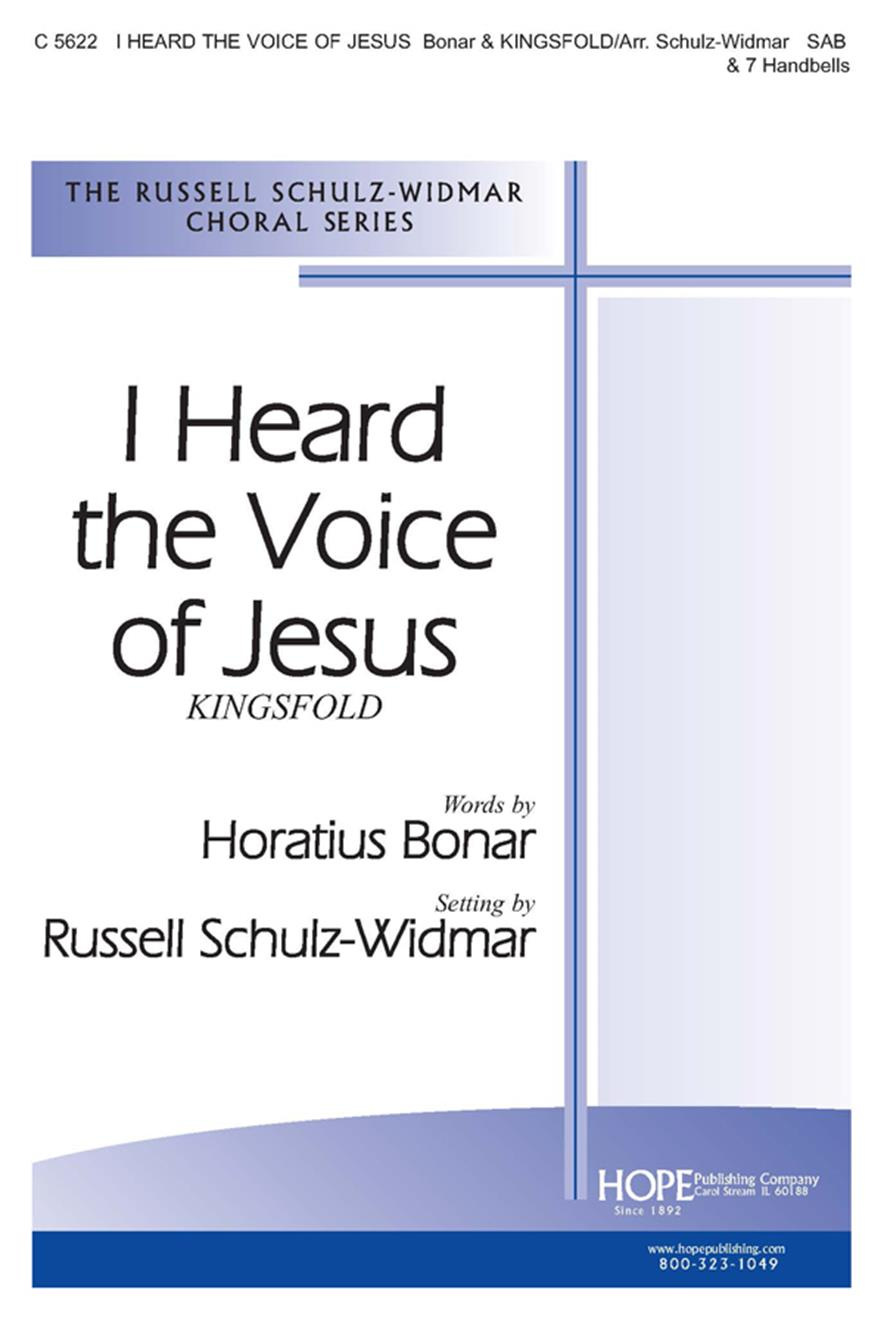 I HEARD THE VOICE OF JESUS - Cover Image