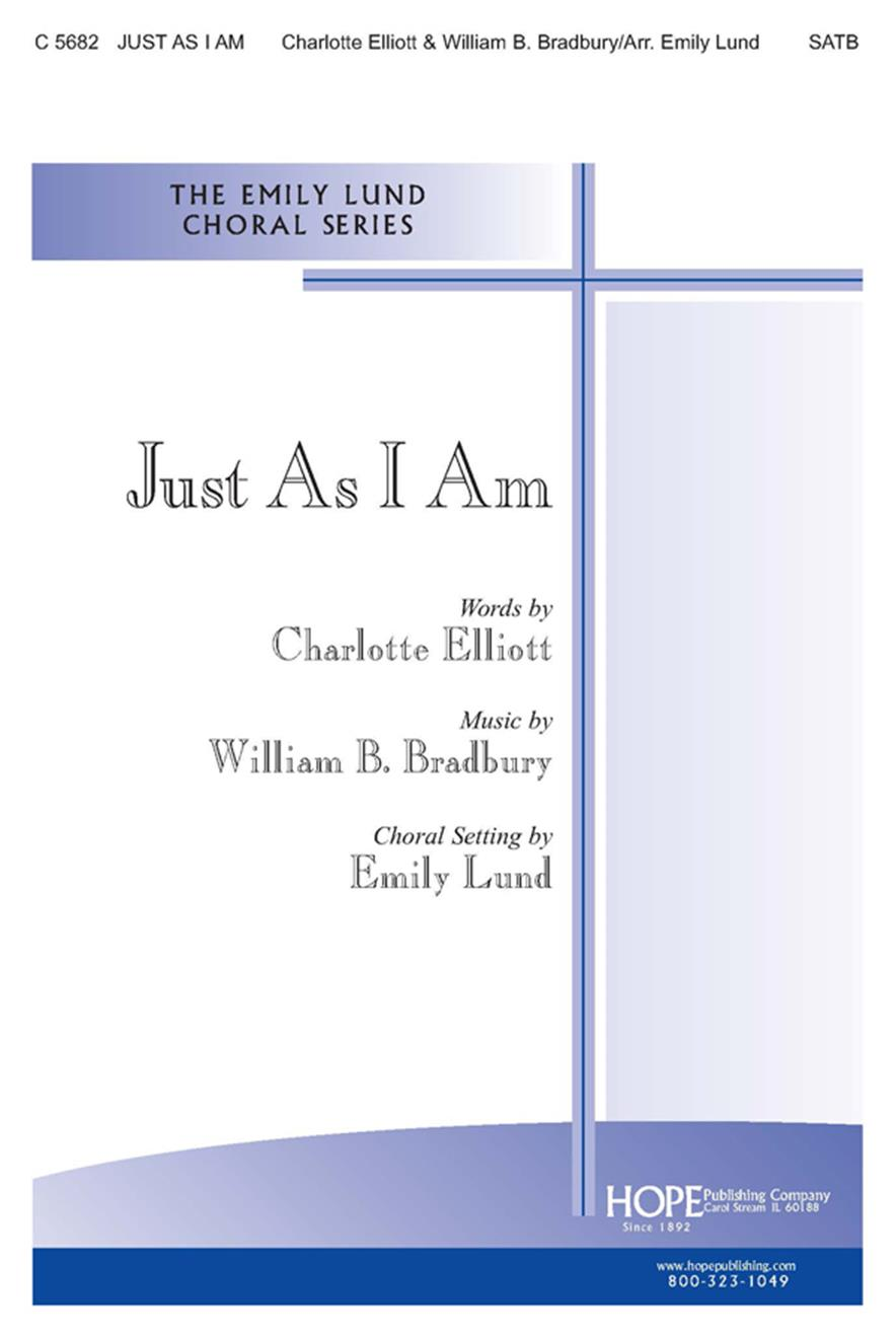 JUST AS I AM - Cover Image