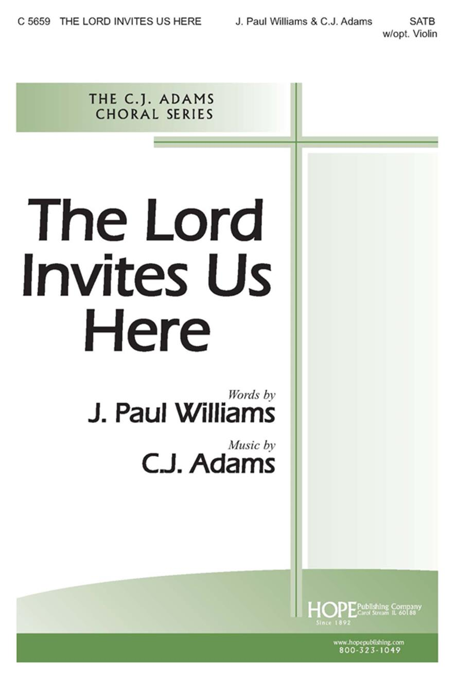 LORD INVITES US HERE, THE - Cover Image