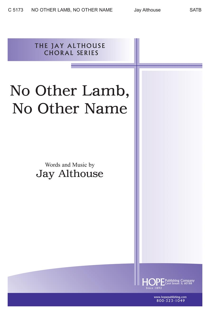 NO OTHER LAMB, NO OTHER NAME  - Cover Image