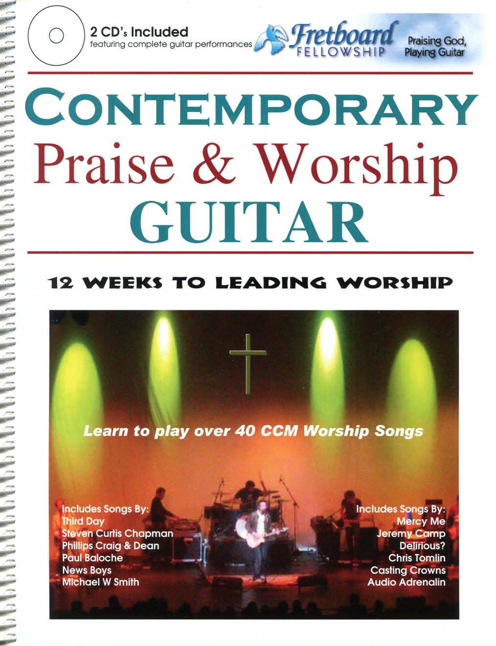 CONTEMPORARY PRAISE & WORSHIP GUITAR - Cover Image