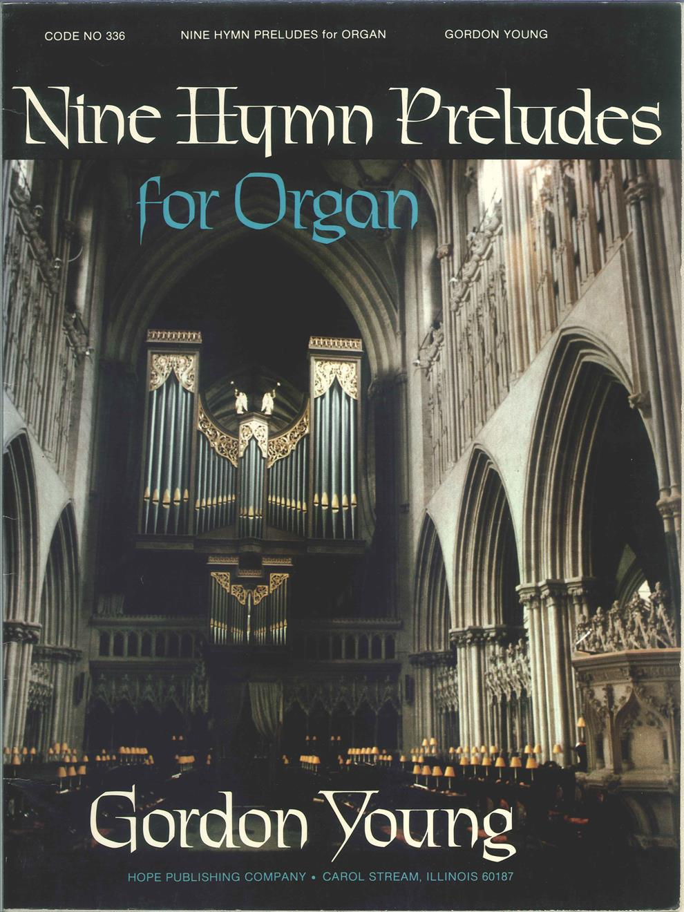 NINE HYMN PRELUDES - Cover Image
