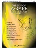 The Best of Agape for 3-5 Octaves Vol. 4 Cover Image