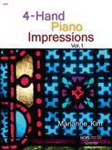 4-Hand Piano Impressions Vol. 1 - Score Cover Image