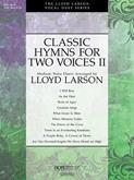 Classic Hymns For Two Voices Vol. 2-Score Cover Image
