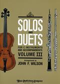 Solos and Duets for C Instruments, Vol.III