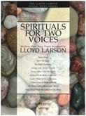 Spirituals for Two Voices (Book) - Med. Voice Cover Image