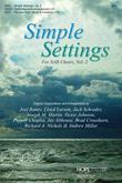 Simple Settings for SAB Choirs Vol. 2 - Score Cover Image