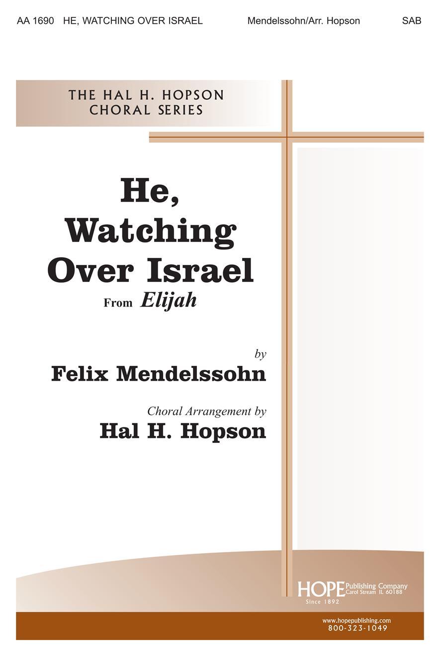 He Watching Over Israel - SAB-Digital Version Cover Image