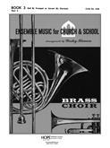 Ensemble Music for Church and School - Book 3/2nd B-flat Trumpet-Digital Version