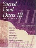 Sacred Vocal Duets III book w/ ACD
