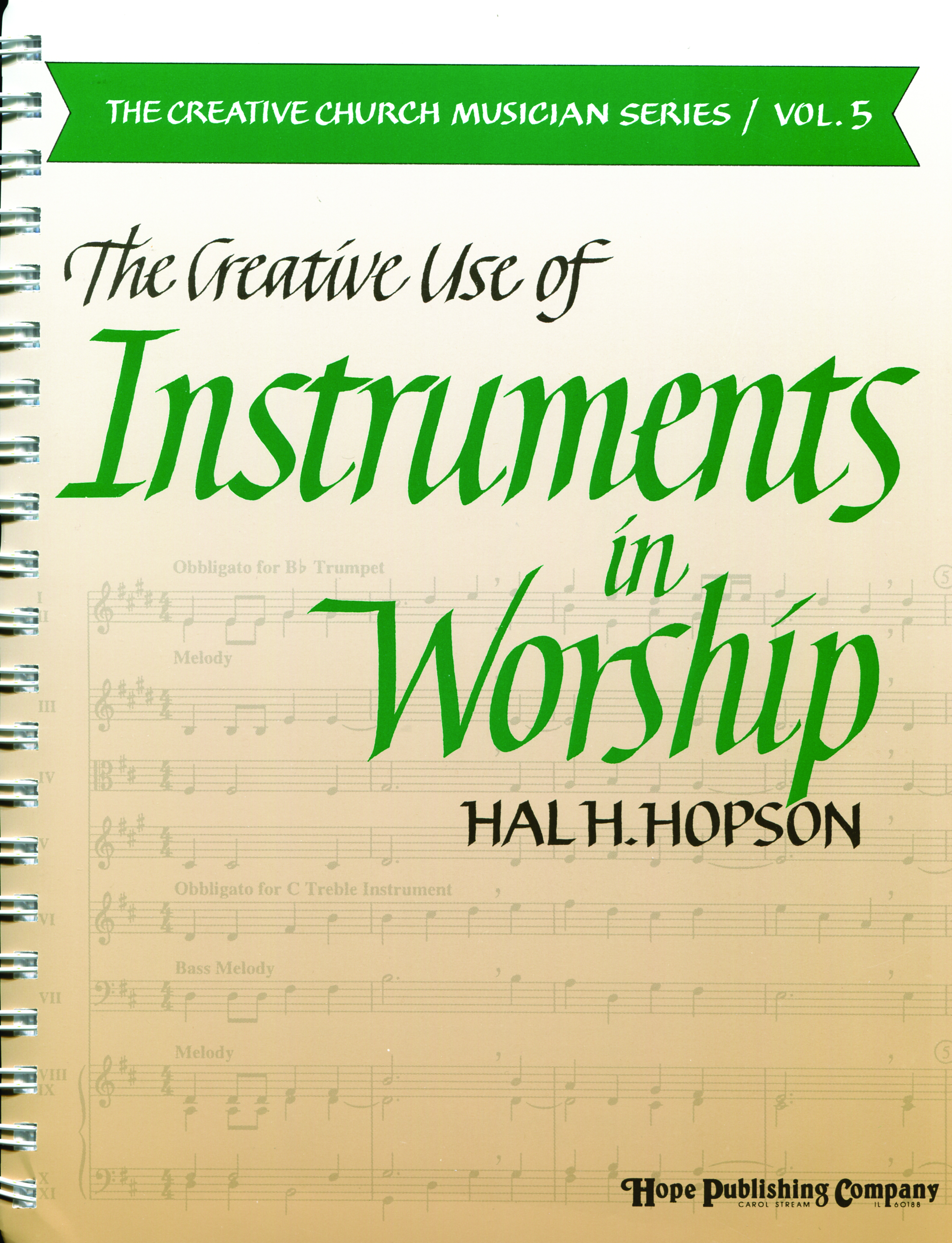 Creative Use of Instruments in Worship The (Vol. 5) Cover Image