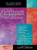 Classic Hymns for Two Instruments - Book and CD Cover Image