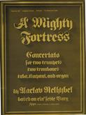 Mighty Fortress A - (Nelhybel) Brass Cover Image