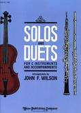 Solos and Duets for C Instruments Vol 1. Cover Image