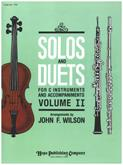 Solos and Duets for C Instruments Vol 2 Cover Image