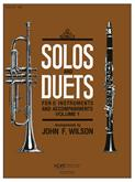 Solos and Duets for B-Flat Instruments Vol. 1 Cover Image