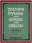 Today's Hymns and Songs for Organ Cover Image