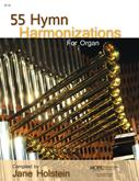 55 Hymn Harmonizations for Organ Cover Image