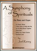 Symphony of Spirituals A - Piano-Organ Duets Cover Image