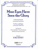Mine Eyes Have Seen the Glory - P-O Duet w-opt. Choral Introit Cover Image