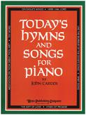 Today's Hymns And Songs For Piano-Cover Image