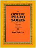 Concert Piano Solos Cover Image