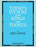 Today's Hymns and Songs II for Piano Cover Image