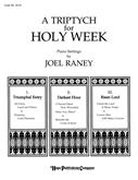 Triptych for Holy Week A - Piano Cover Image