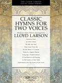 Classic Hymns for Two Voices - Book Cover Image