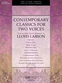 Contemporary Classics for Two Voices - Book Cover Image