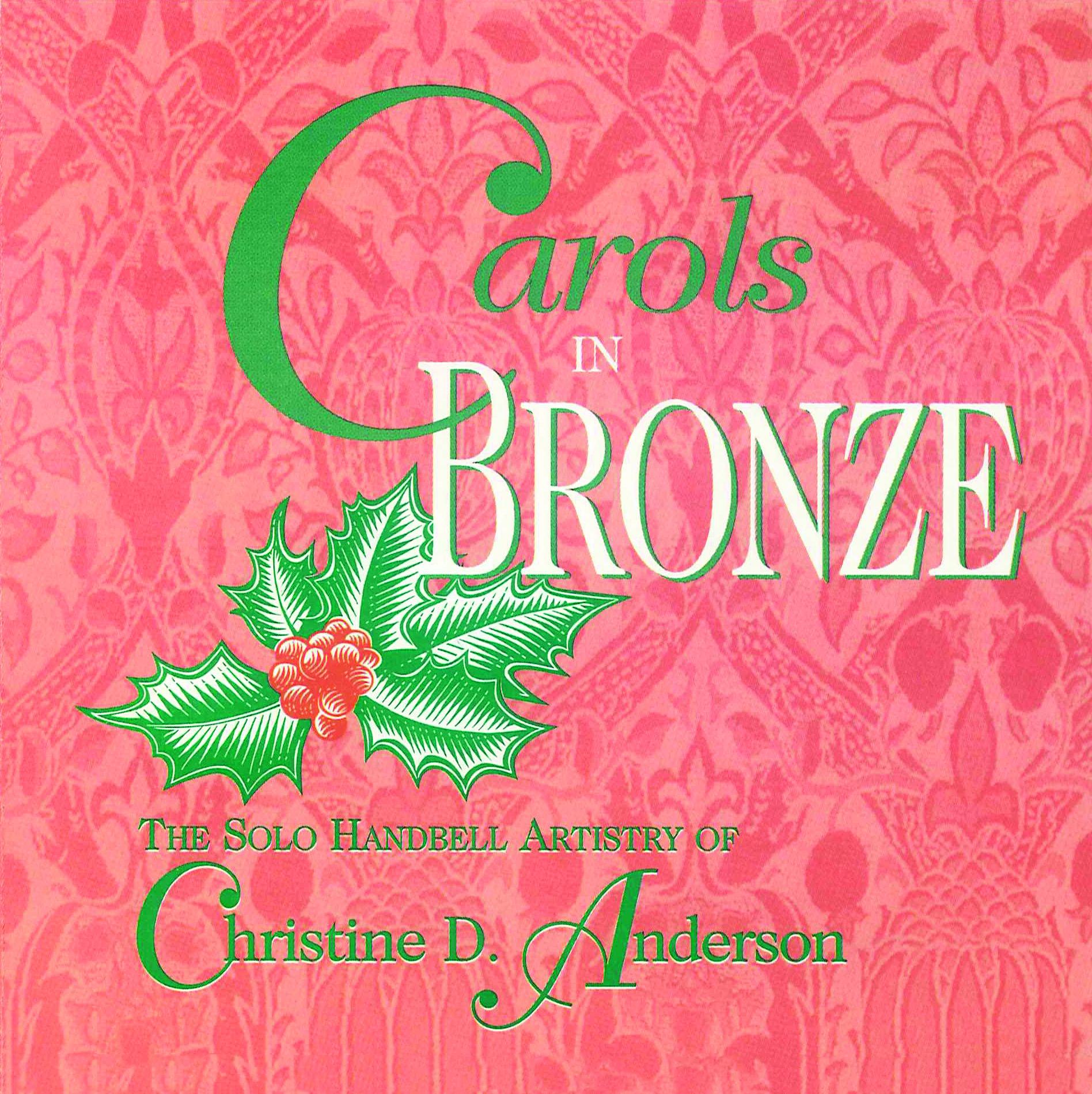 Carols in Bronze - CD Cover Image