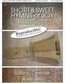 Short and Sweet Hymns of Joy - 3-5 Oct. Collection (Reproducible) Cover Image