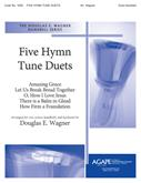 Five Hymn Tune Duets - Handbell Cover Image