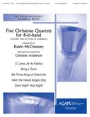 Five Christmas Quartets for 4-in-Hand - Collection Cover Image