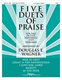 Five Duets of Praise - 2 Octave Duets Cover Image