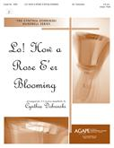 Lo How a Rose E'er Blooming - 3-5 Octave Cover Image