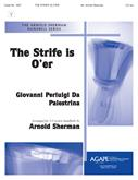 Strife Is O'er The - 3-5 Octave Cover Image