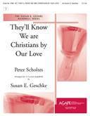They'll Know We Are Christians by Our Love - 2-3 Octave Cover Image