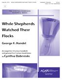 While Shepherds Watched Their Flocks - 3-6 Octave w-opt. Handchimes Cover Image