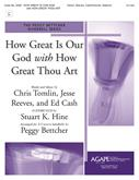 How Great Is Our God w-How Great Thou Art - 3-5 Oct. Handbell Cover Image