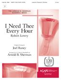 I Need Thee Every Hour - 3-5 Oct. Cover Image
