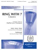 Ring with 7: Classics - 7 Ringers (A4-C7) w-opt. 6 Handchimes (C5-A5) Cover Image