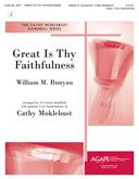 Great Is Thy Faithfulness - 3-5 Oct. w/opt. 3 Oct. Handchimes-Digital Version