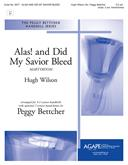 Alas! and Did My Savior Bleed - 3-5 Oct. w/opt. 2 Handchimes